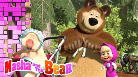 masha   bear hd wallpaper  ipad air  cartoons