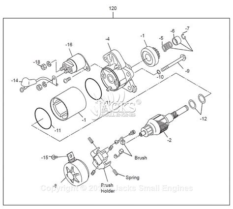 Robin Subaru Parts Diagram For Starter Motor