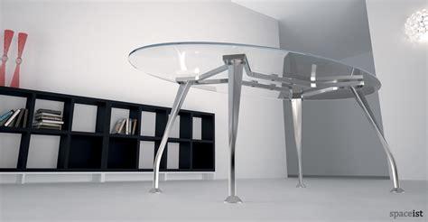 glass desk with storage office desks segno glass executive desk