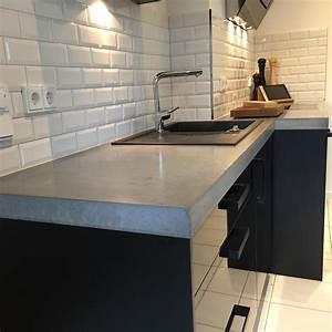 Arbeitsplatte Küche Versiegeln : arbeitsplatten aus beton diy anleitung mit betonrezept ~ Sanjose-hotels-ca.com Haus und Dekorationen
