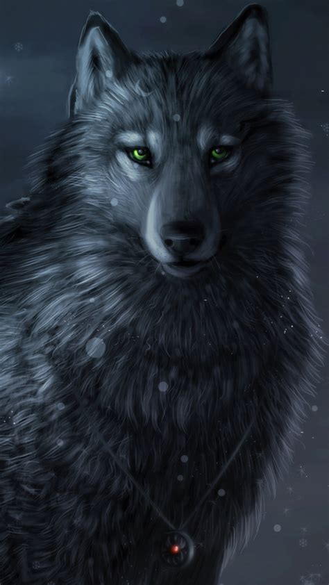 Iphone Black Wolf Wallpaper by Wolf Wallpaper For Iphone Braves Desktop Wallpapers
