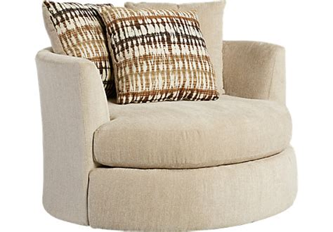doverton beige swivel chair