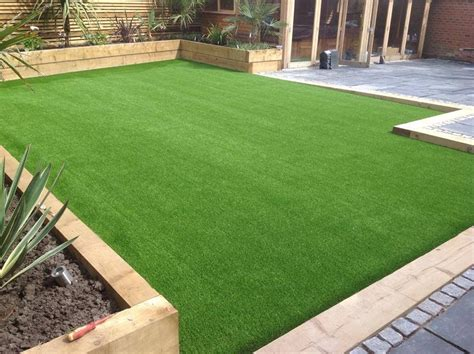 artificial grass garden designs supplier high quality synthetic turf looks and feels real perfect for hot climates with water