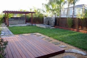 Patio And Deck Combo Ideas by Japanese Garden Contemporary Garden California Garden