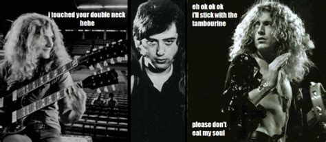 Led Zeppelin Memes - i m still not sure whether jimmy is satan or just an evil genius