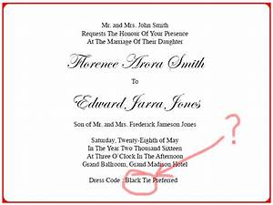 invitation card dress code images invitation sample and With wedding invitations how to dress code