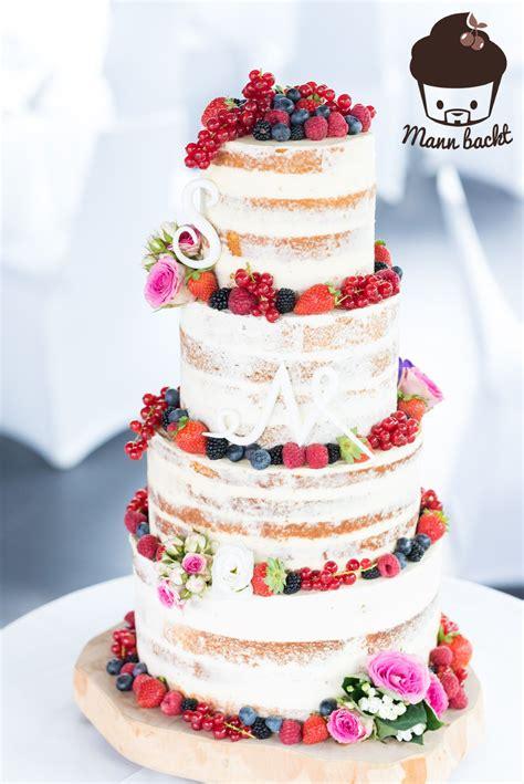 tutorial und rezepte hochzeitstorte naked cake mit