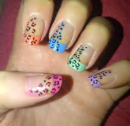Of colourful leopard