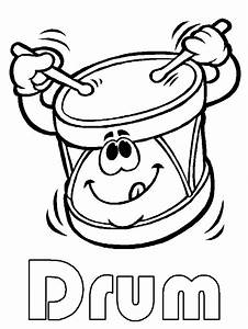 Music Instrument Coloring Pages - AZ Coloring Pages