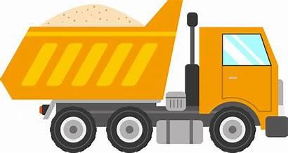 Backfilling Truck Construction Excavation Qa