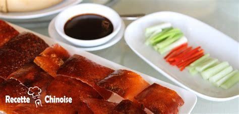 cuisine vegetale canard laqué de pékin recette chinoise cuisine de la chine
