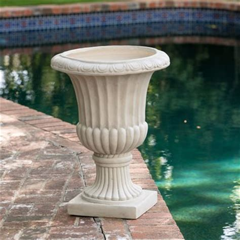 urn planters lowes best selling home decor italian 26 in urn planter lowe s