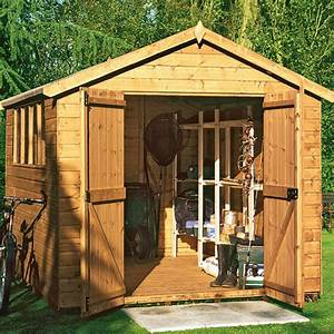 wooden garden sheds build your own shed blueprints With backyard shed builders
