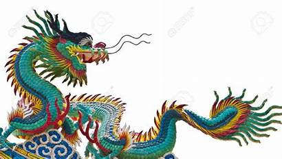 Dragon Chinese Dragons Asian Background Illustration Colors