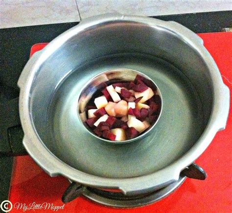 Beetroot And Potato Puree For Babies Mylittlemoppet