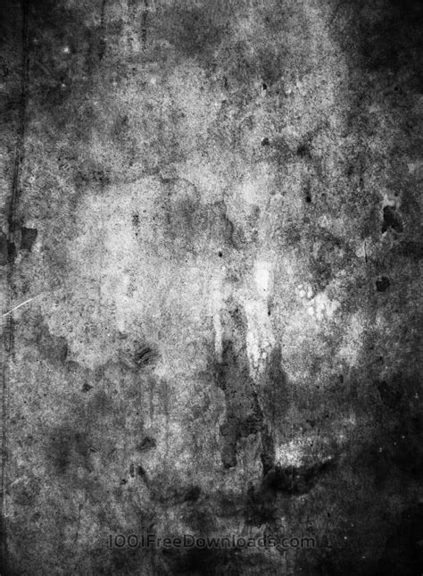 Free Textures: Black and white grunge texture Stone