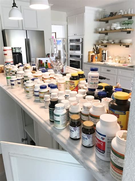 organize a kitchen simply done simply organized vitamins and supplements 1239