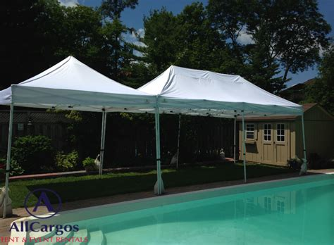 canopy tent rental allcargos tent event rentals inc customize your own size