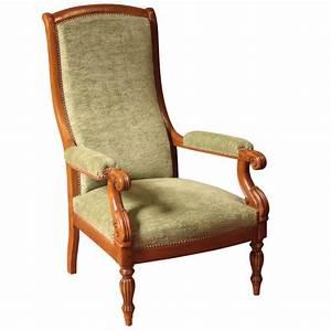 Fauteuil Style Voltaire : fauteuil mauzancieux style restauration louis philippe ateliers allot meubles et si ges de ~ Teatrodelosmanantiales.com Idées de Décoration