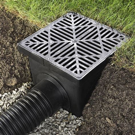 how to create drainage in yard solve simple drainage problems