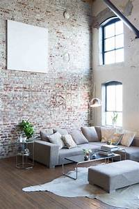 19 stunning interior brick wall ideas decorate with for For walls in living room