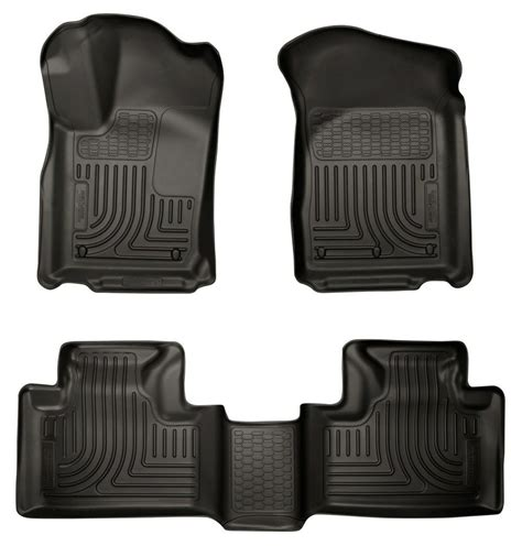 Jeep Car Mats Grand - husky weatherbeater front rear floor mats 2011 2015 jeep