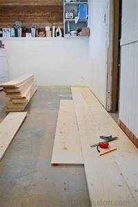 how to install a barn board floor over concrete With barn board flooring do it yourself