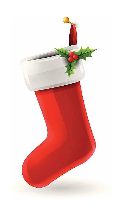 Stocking Christmas Vector Illustrations Clip Illustration Graphics
