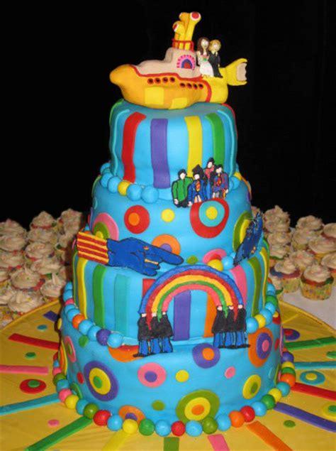 Yellow Submarine Wedding Cake Neatorama