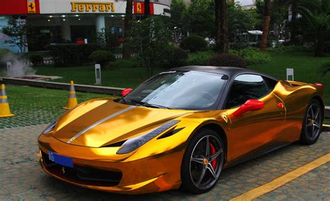 gold ferrari gold and black ferrari wallpaper 2 free hd wallpaper