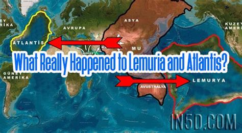 What Really Happened to Lemuria and Atlantis? - In5D ...