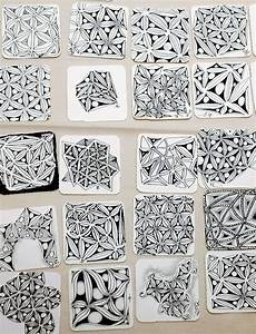17 best zentangle fill patterns images on pinterest With zentangle tile template