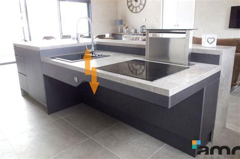 etag鑽e de cuisine table de cuisine escamotable maison design bahbe com
