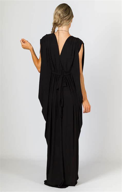 Chintami Kaftan Maxy kaftan style maxi dress black