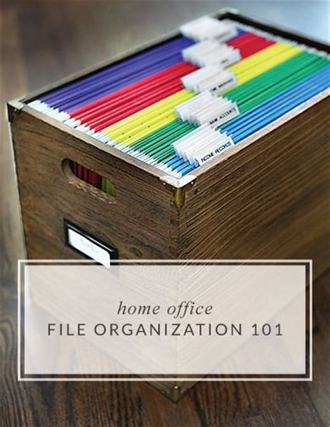 Best 25+ Home Filing System Ideas On Pinterest  Home File