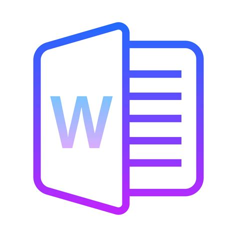 micresoft word microsoft word icon free png and svg download