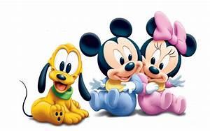 Micky Maus Und Minni Maus : mickey mouse pluto and minnie mouse as babies disney hd wallpaper ~ Orissabook.com Haus und Dekorationen
