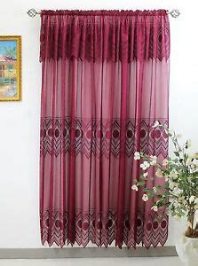 20 Inch Valances by Thf Lace Panel 59 Quot X 84 Quot With 16 Inch Attached Valance
