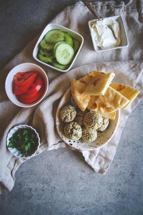 bowls fryer air falafel recipe sweetphi bowl cucumber vegetarian delicious healthy pita