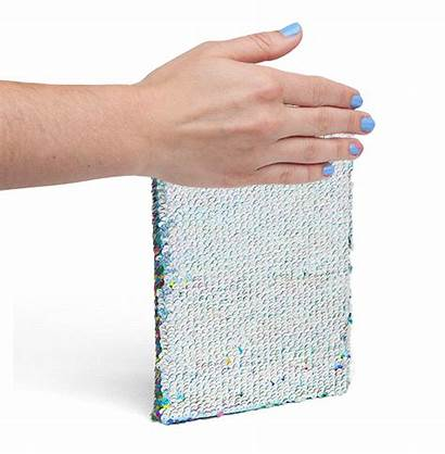Sequin Notebooks Changing Gifts Perfect Notebook Desk