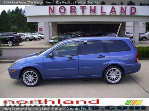 french blue metallic  ford focus ztw wagon medium
