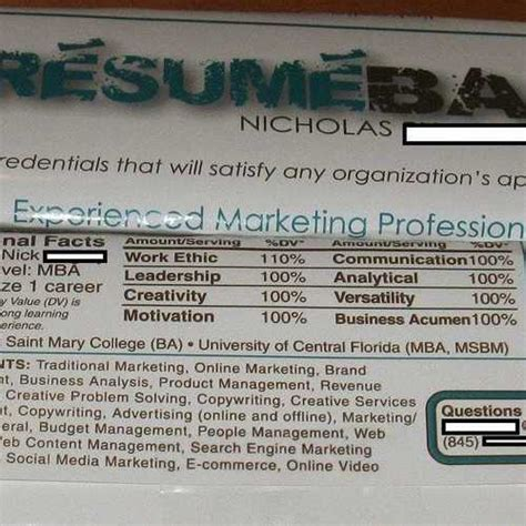 the 16 most creative resumes we ve seen