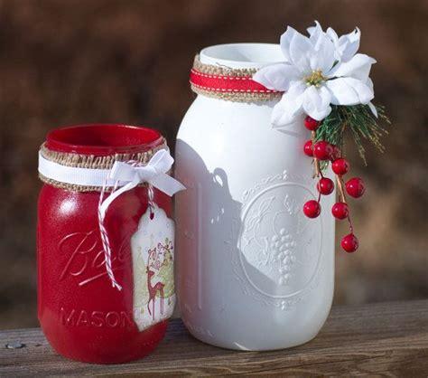 decorated christmas jars ideas mason jar decorations ideas for all holidays founterior