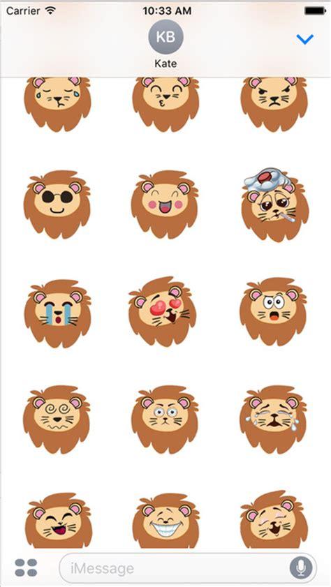 emojis stickers for android lionoji emoji emojis stickers app