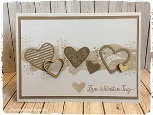 Glückwunschkarte Zur Hochzeit Selber Basteln : stempeln macht gl cklich hochzeitskarte mit dem produktset mit gruss und kuss aus dem ~ Watch28wear.com Haus und Dekorationen