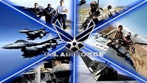 USAF Logo Wallpaper - WallpaperSafari