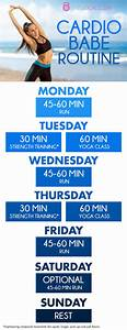 Healthy Diet Routine Chart Cross Training Workouts For A Balanced Body