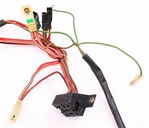Fan Radiator Temp Engine Wiring Harness 88