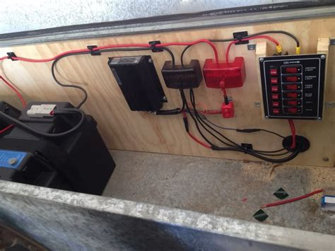 Camper Trailer Wiring Setups Google Search Trailers