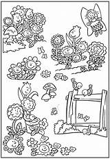 Coloring Garden Pages Flower Gardening Fairy Flowers Colouring Printable Colorful Sheets Insects Landscape Books Bestcoloringpagesforkids Coloringfolder Easter sketch template